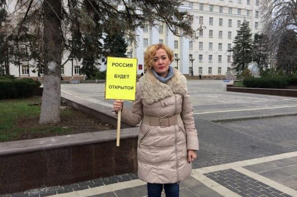 23 января Анастасии Шевченко надели на ногу электронный браслет