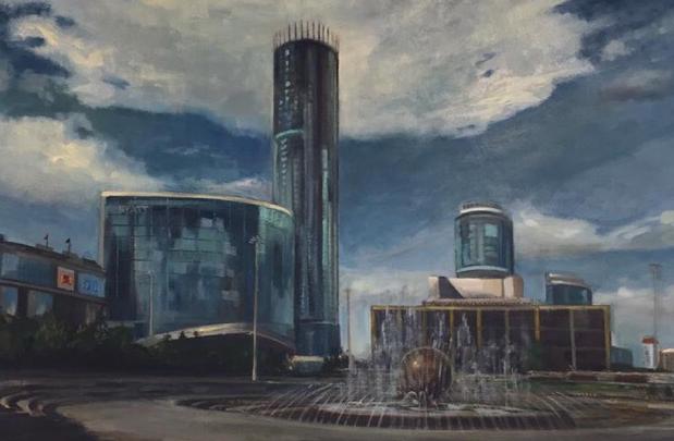 Площадь у Драмы и Белая башня: смотрим картины, которые выставят в частной галерее на Плотинке