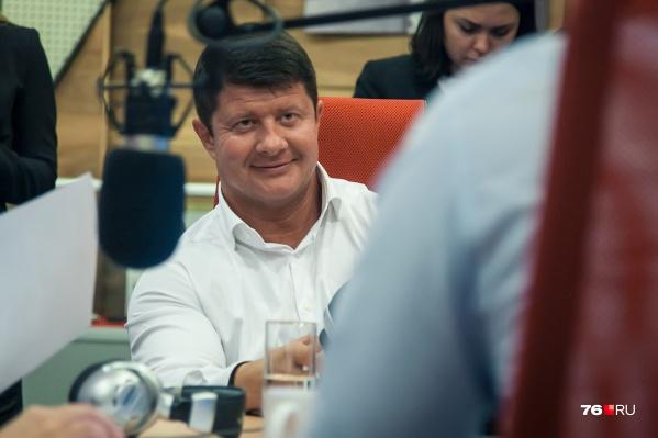 Мэру Ярославля Владимиру Слепцову всегда есть о чем рассказать