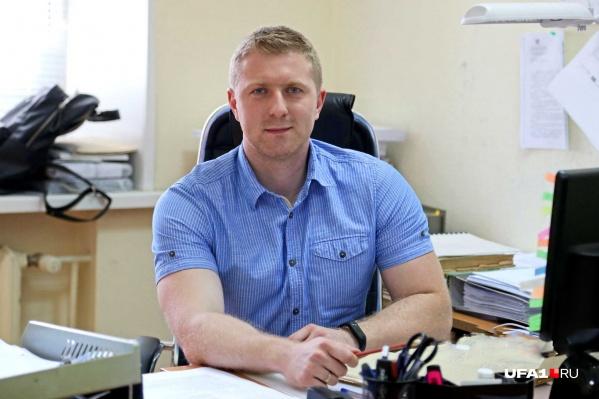 Старший помощник руководителя СУ СК РФ по Башкирии Евгений Каневский