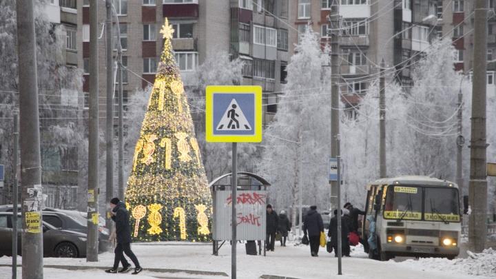 Предпоследние выходные года Поморье встретит морозом и надеждами на потепление к праздникам