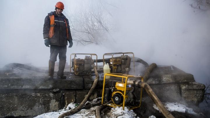 Больше полусотни домов в центре Новосибирска остались без отопления