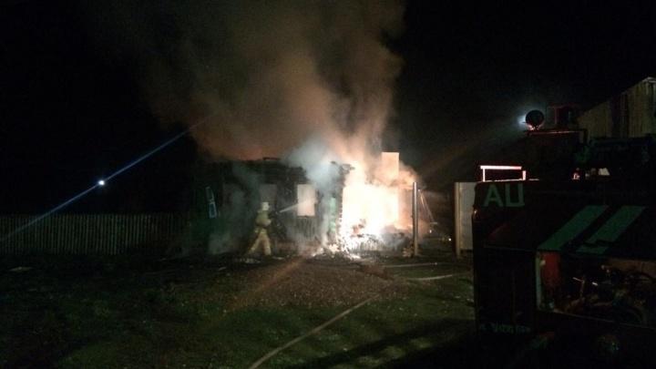 Ночные пожары в Башкирии унесли жизни троих человек