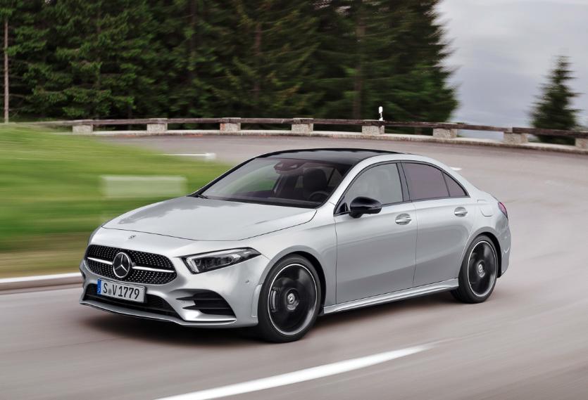 Mercedes показал своё самое короткое авто «для бедных»