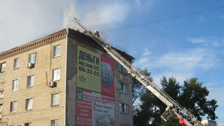 Сгоревшее общежитие в Кургане восстановят за счет городского бюджета