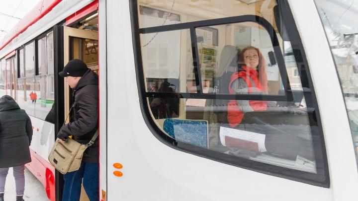 Еще один трамвай пустили до стадиона «Самара Арена»