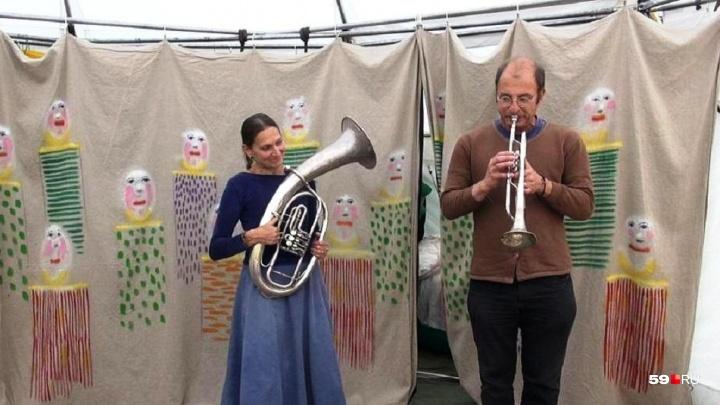 «Самый маленький цирк Европы»: парк Горького в Перми приглашает на выступления дуэта Giroldon