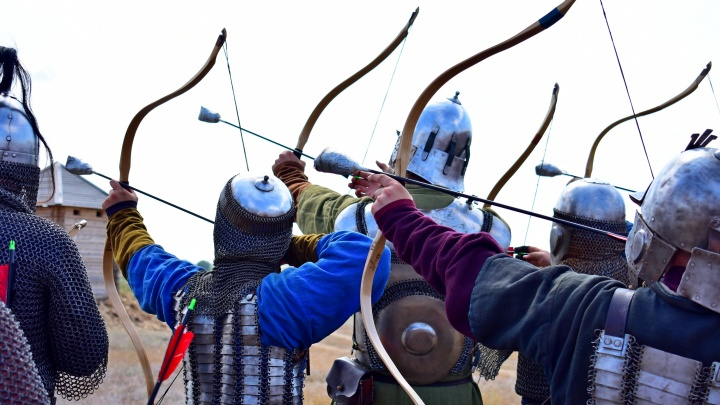 Под Волгоградом стрельцы сразились за Царицынский вал