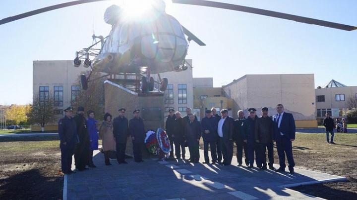 На Дону открыли памятник «Летчикам армейской авиации»