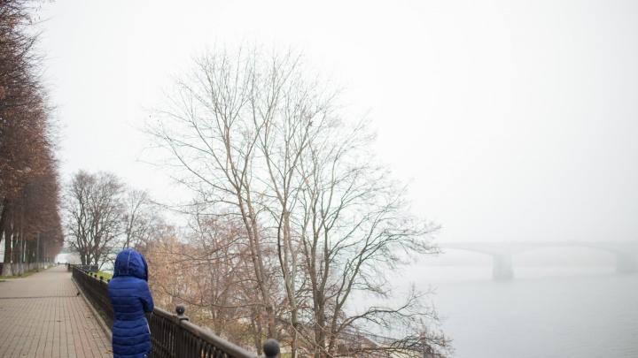 Ноябрь в молоке: десять загадочных фото туманного Ярославля