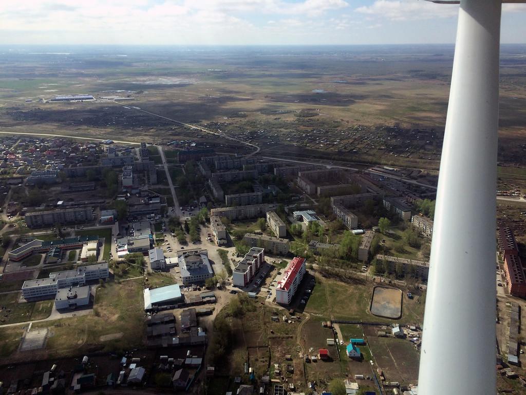 В окрестностях Новосибирска