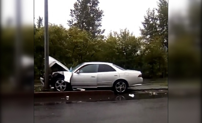 В аварии пострадали три человека