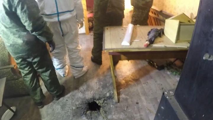Бросил гранату: появилось видео с места спецоперации по уничтожению боевика