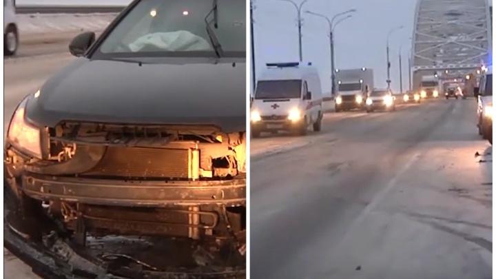 Пьяный водитель в Архангельске устроил погоню и попал в больницу — смотрим видео