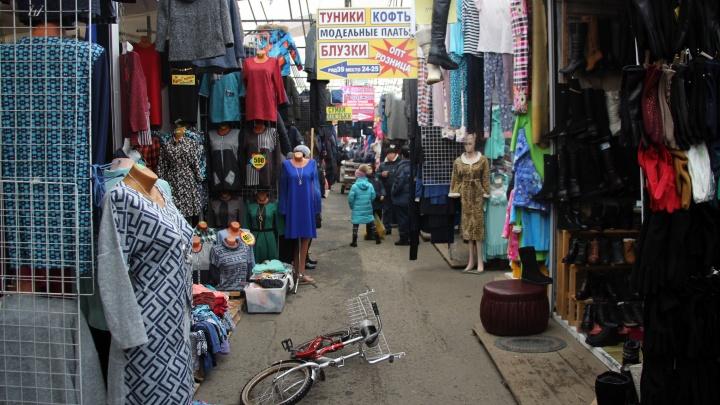 Забастовка в «Торговом городе»: продавцы выступили против коллег с «хитрого рынка»
