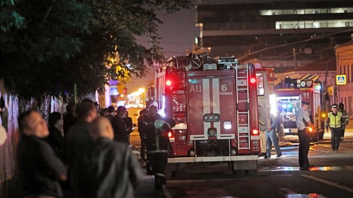 Проверка по пожару в историческом особняке в центре Челябинска закончилась уголовным делом