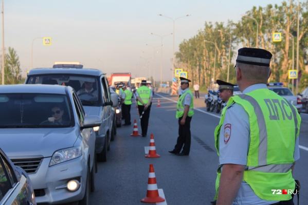 На 200 остановленных водителей— ни одного пьяного