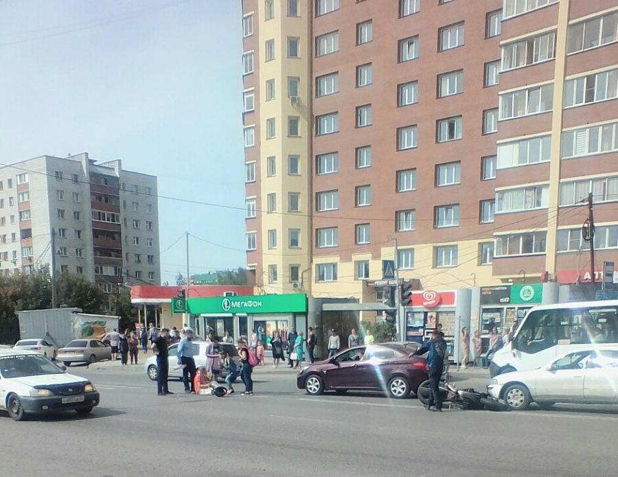 водитель honda сбил человека на выборной новосибирск