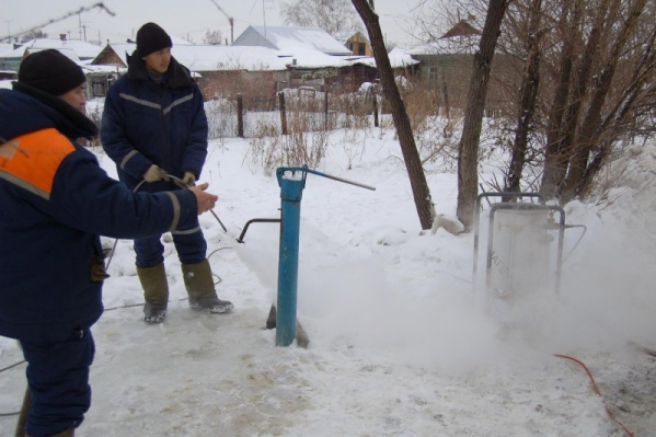 Этой зимой «Водный союз» обслуживает 309 колонок