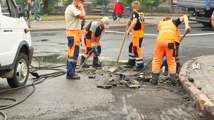 С этой недели в центре Красноярска и на Копылова перекрывают дороги ради ремонта