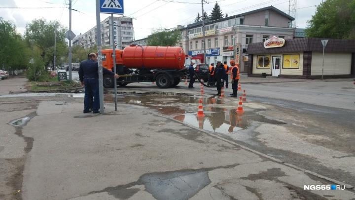 Из-за аварии на Маяковского в 27 домах отключили холодную воду