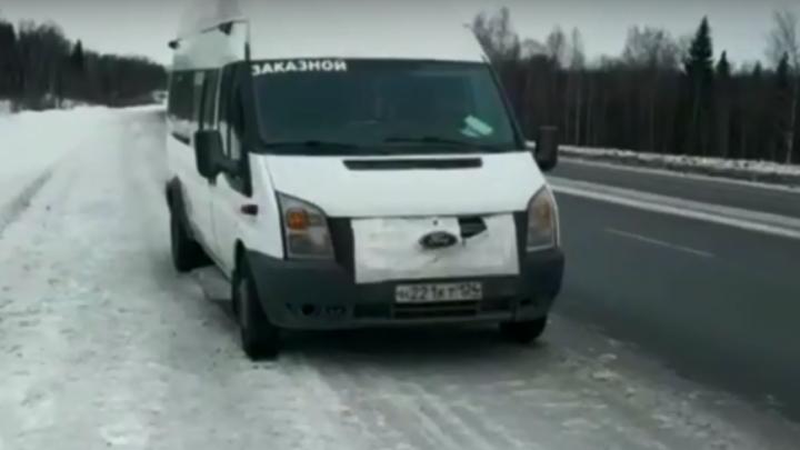«Я?! Ни-ни!»: инспекторы задержали пьяного водителя автобуса