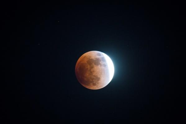 Жители Новосибирска увидят не полное лунное затмение, а только полутень