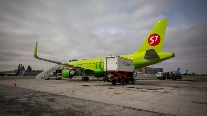 S7 признали самой пунктуальной российской авиакомпанией в Европе
