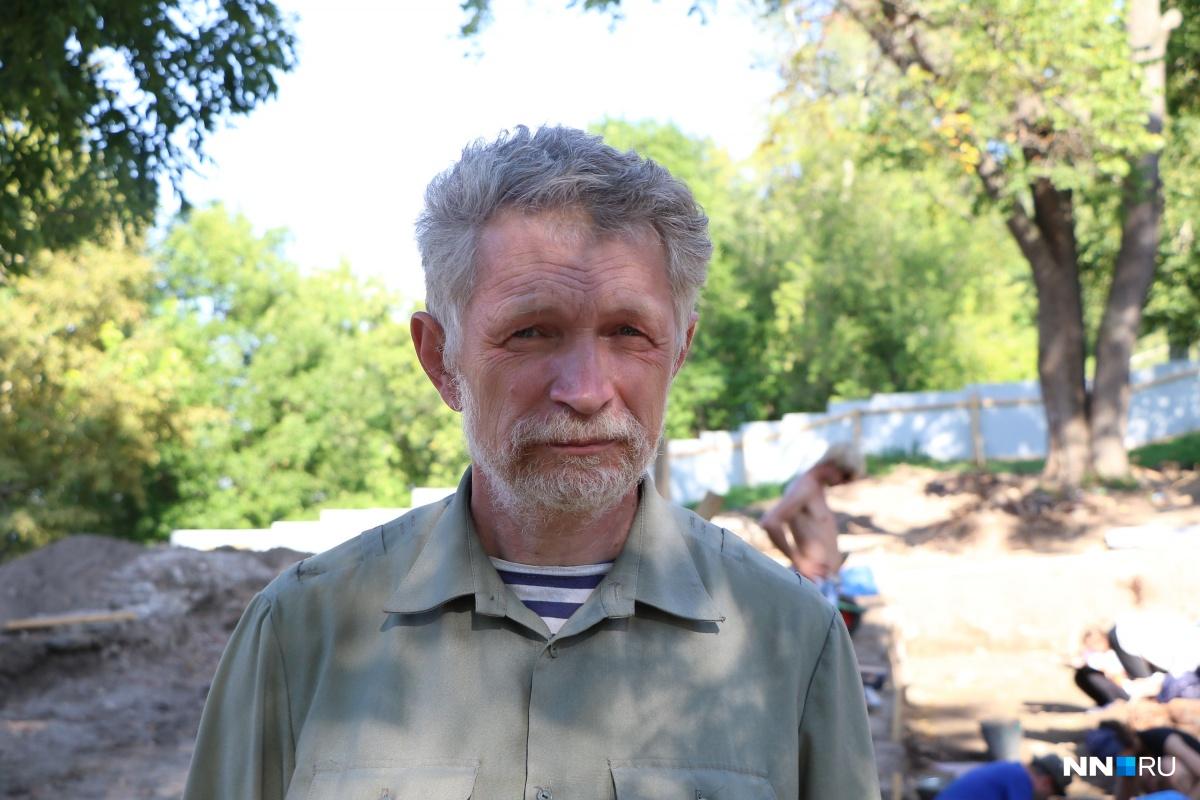 Археолог Николай Николаевич Грибов