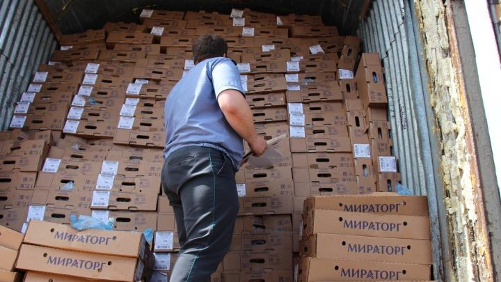 Почти 200 тонн мяса и рыбы ввезли в Красноярск под видом кукурузных хлопьев