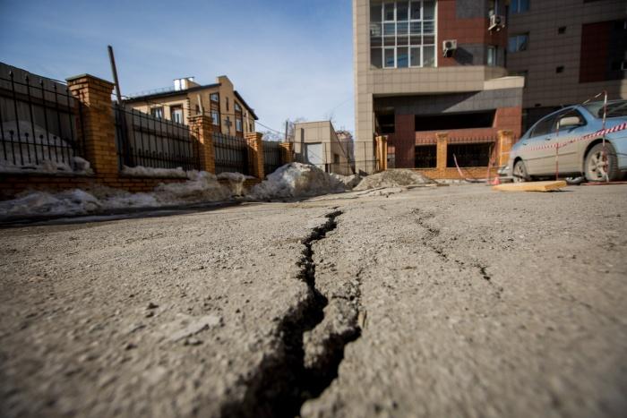 Власти намерены спасти участок в центре Новосибирска, забрав территорию себе