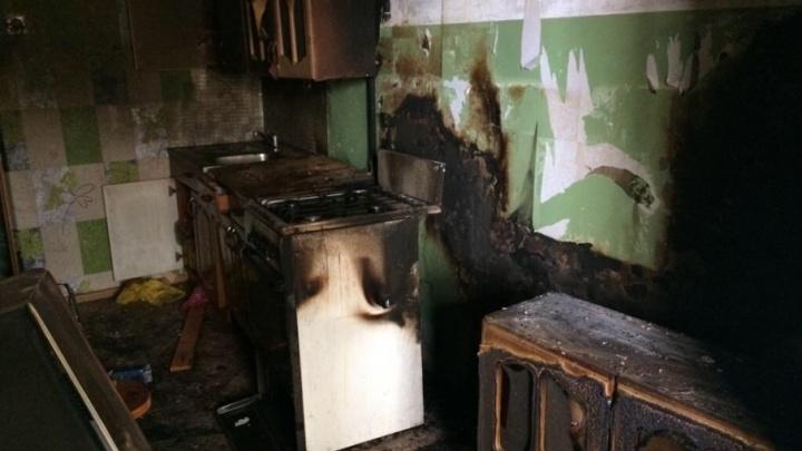 В Башкирии загорелась многоэтажка: эвакуировали 75 человек