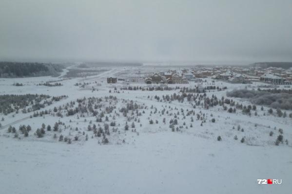 Туманные явления в Тюмени наблюдались и вчера