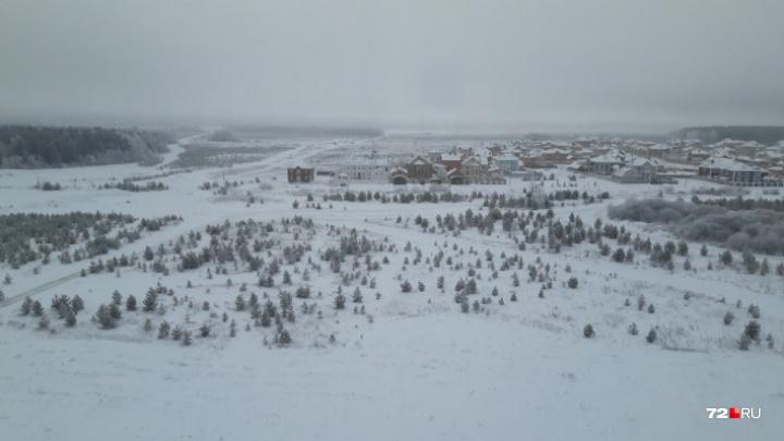 В Тюменскую область пришли туманы