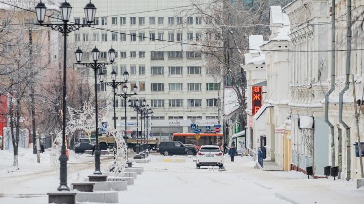 Без сильных морозов, но снежно. Публикуем прогноз погоды в Прикамье на неделю