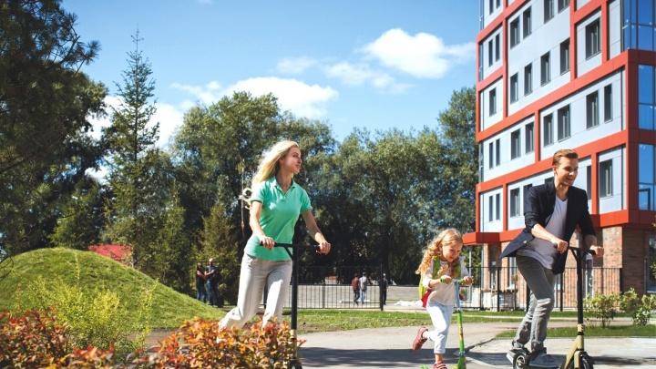 В Новосибирске начали массовый обмен старого жилья на квартиры в новостройках с видом на Обь