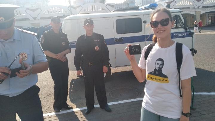 Тюменец, разыскиваемый за лекции про Путина, появился на футболках саранских активистов