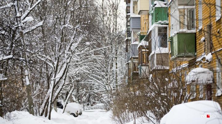 В Ярославле прокуратура заставила управляющие компании почистить дворы и сбить сосульки