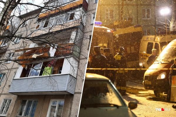 Взрывной волной разворотило всю квартиру
