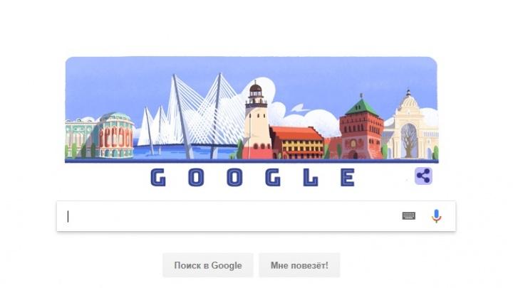 Дом Севастьянова появился на логотипе Google