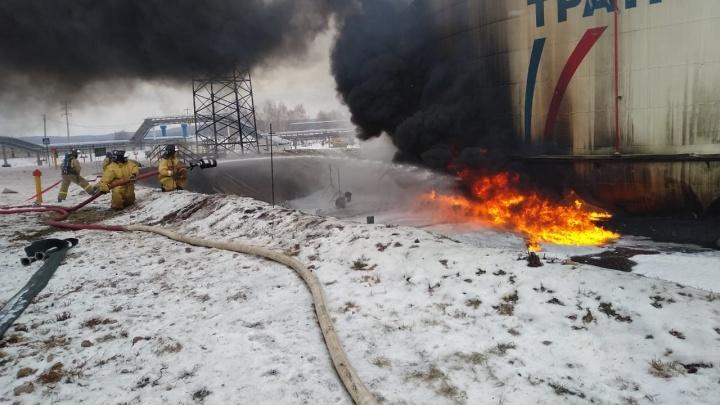 Появилось видео взрыва на нефтестанции в Татарстане, в котором погибли рабочие из Самарской области