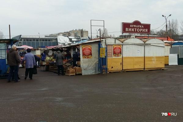 Рынок «Виктория» в Брагино скоро закроется