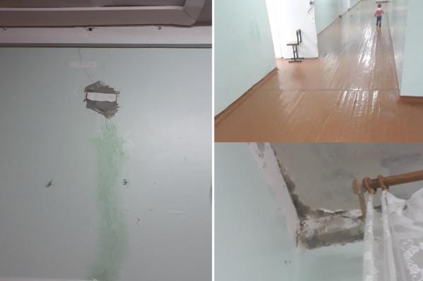 Тюменцы считают, что школа находится в ужасном состоянии и зданию срочно требуется капитальный ремонт