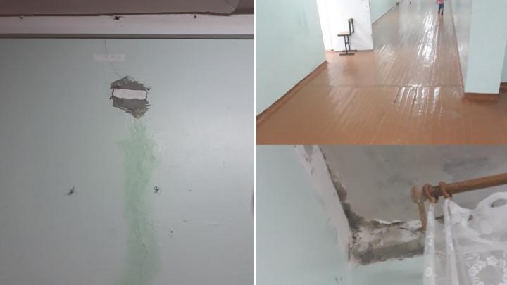 «Трещины на стенах, полы ходят ходуном»: родители пожаловались на состояние тюменской школы №42