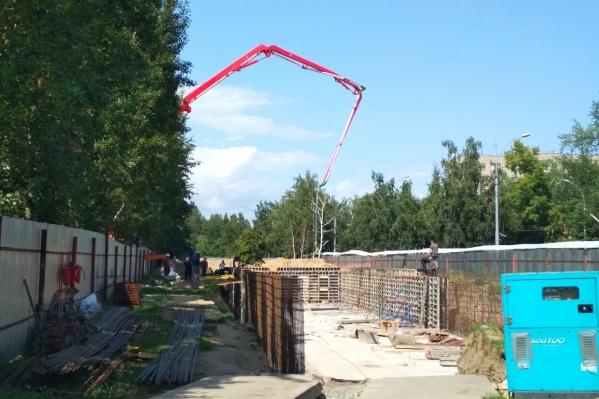 На участке построят четырёхэтажное здание
