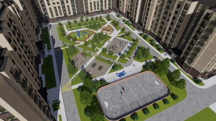 Всё ближе к «Цивилизации»: в Калининском районе продолжается крупная стройка
