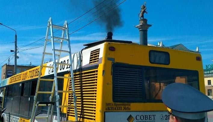 Мэрия Красноярска отказывается от запуска газовых автобусов
