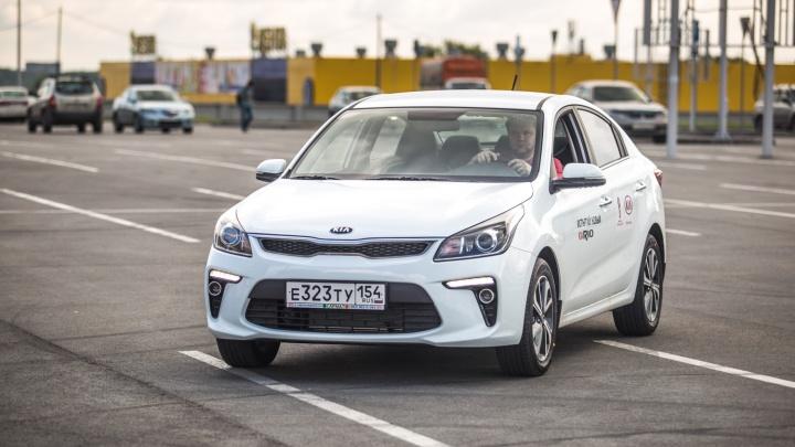Названа самая популярная у новосибирцев модель авто
