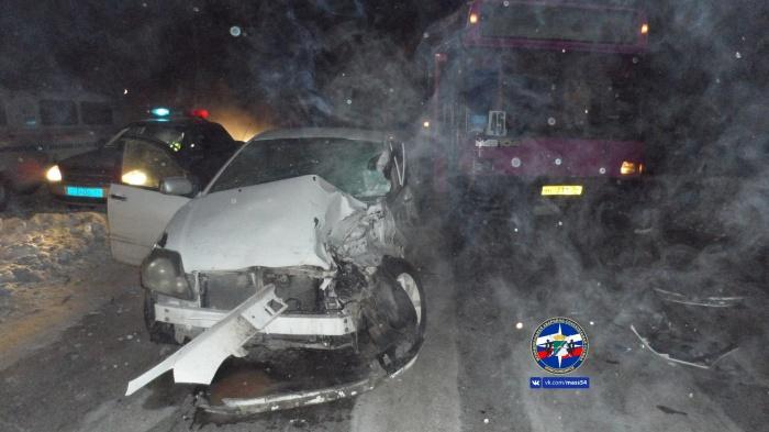 В аварии пострадала пассажирка«Тойоты Короллы»
