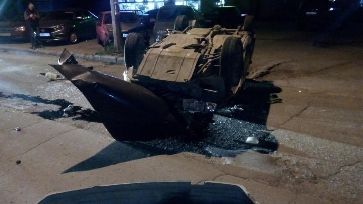 Протаранил семь машин: в Перми полиция устроила погоню за 30-летним водителем без прав